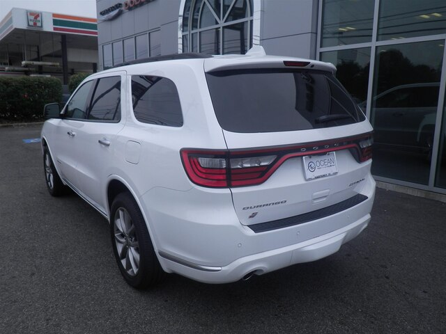 New 2019 DODGE Durango Citadel Anodized Platinum